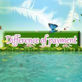 Wholesale Payment of the price difference for items