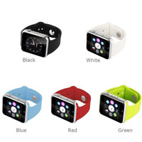 Wholesale Bluetooth Smart Watch A1 Wrist Watch Men Sport iwatch style watch for IOS Apple Android Samsung smartphone