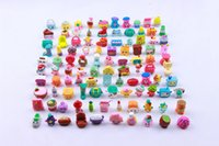 Wholesale Hot Sales Cute Shopping Basket Figures Toys Shopping Season Dolls Mixed Baby Kids Pretend Play Shopping Toys Gifts