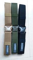bdu belts - Tactical Outdoor Mountaineering Special Black Hawk Outer Belt BDU Training Belt Double insurance plastic buckle