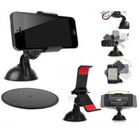 al por mayor soporte de la cámara iphone-Car Holder Universal Soporte Soporte Soporte Cupule Negro para iPhone 6 5 5S 5C Sumsang Teléfono Inteligente PDS GPS Cámara Recoder
