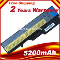 Wholesale mAh Cell Laptop Battery for Lenovo IdeaPad G460 G470 G560 G570 B470 B570 V470 V300 V370 Z370 Z460 Z470 Z560 Z570