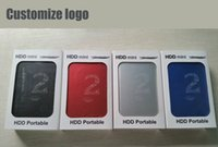 Wholesale USB3 inch G portable external hard drive