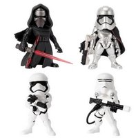 Wholesale 4 Designs Star Wars Action Figures Black Knight Darth Vader Stormtrooper PVC Toys Star Wars Dolls CCA5499 set
