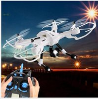 Wholesale Drones MP Wide Angle HD CH G Axis Gyro Headless Mode One Key Return RC Quadcopter Drone White Aerial apparatus
