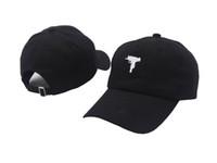 ball guns - Top selling Uzi Gun Baseball Cap US Fashion Snapback Hip hop Cap HEYBIG Curve visor panel Hat casquette de marque caps