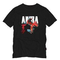 achat en gros de films d'anime japonais-Akira Shotaro Kaneda The Capsule Moto Peint T-shirt japonais de film animé Anime T-shirt Homme Été Style Adultes T-shirt Alien Tops