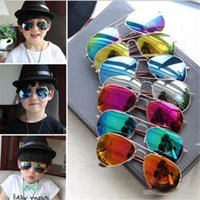 Wholesale Hot style Children Girls Boys Sunglasses Kids Beach Supplies UV Protective Eyewear Baby Fashion Sunshades Glasses