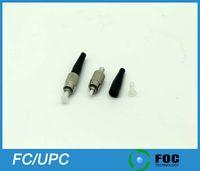 Wholesale FC UPC mm mm mm Boot Size Simplex Singlemode Multimode Fiber Optic Connector