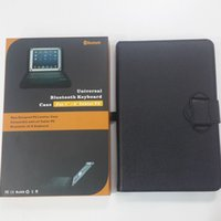Wholesale BOHAI New Designed Universal Bluetooth Keyboard PU Leather Case Compatible with Tablet PC Bluetooth v3 Keyboard