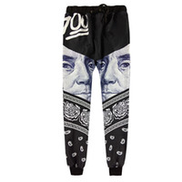 303 # Lovers Men And Women Personality 3 Dimensional Sweater QQ Expression Trousers 3D Wei Calças Emoji Pants