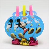 Wholesale cartoon mickey mouse blowout party supplies kid s favor festival noisemaker party decorate happy birthday party