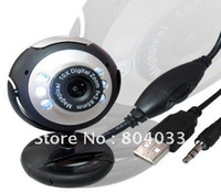 Wholesale USB M HD Camera with Microphone Mega Pixel Web Cam LED HD Webcam Camera MIC FOR PC LAPTOP