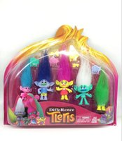 Wholesale Trolls collection pack action figures toys dolls styles Trolls Biggie Exclusive Action Figure with box High quality