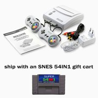 Wholesale snes game console best children gift NTSC version and PAL version both ship wiht gift cart IN1