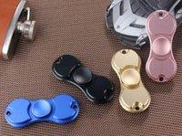 Wholesale 2017 New Arrival HandSpinner Fingertips Spiral Fingers Gyro Torqbar Brass Toys Novelty HandSpinner Toys Colors cm TOP1559