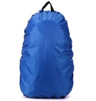 Wholesale Waterproof rain cover for Travel Camping Hiking Outdoor Cycling School Backpack Luggage Bag Dust Rain Cover Colors
