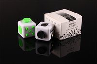 Wholesale Newest novelty Fidget Cube stress relief toys for kids and adults colors Decompression stress balls Original quality toys gift