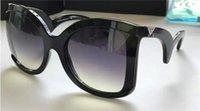 achat en gros de designer italien lunettes de soleil marques-Nouvelle mode lunettes de soleil femmes marque concepteur cadre papillon grand cadre de mode GA4083 italienne designer fashion show de style baroque de qualité supérieure