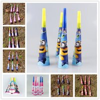 Noise Maker baby cartoon shows - party supplies horns for kids birthday party baby show kinds of cartoons