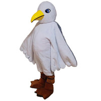 Wholesale Seagull Mascot Costume Cartoon Real Photo
