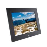 achat en gros de lecture vidéo cadres photo numériques-Cadre photo numérique original 8 pouces LCD Lunettes-Free frame Lunettes de lecture 3D Multi-media gratuit 3D PMP Video MP4 Playback