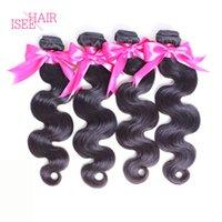 Wholesale Brazilian Body Wave Virgin Hair Brazilian Peruvian Malaysian Indian Hair Weave Bundles Unprocessed Human Hair Weft Extensions Bundles