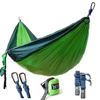 Wholesale Winner Outfitters Double Camping Hammock Lightweight Nylon Portable Hammock Best Parachute Double Hammock For Backpacking