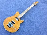 axis music - Ernie Ball Music man AXis eletric guitar quilted maple top floyd rose bridge