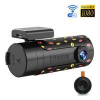 Wholesale DDPai Mini Wifi Car DVR Smart Car Camera FHD P Night Vision Dash Cam Recorder Wireless Auto Camcorder APP For IOS Android