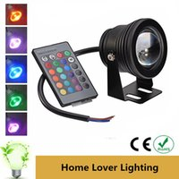 Wholesale Swimming pool lights RGB W V fountain lights Waterproof Colors Changing with Remote Controller led pool light