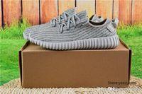 Compra Mejores botas de las mujeres al por mayor-Las zapatillas de deporte baratas al por mayor de las mujeres de los hombres de los cargadores 350 de Boots de los zapatos corrientes de Kanye West empujan el envío libre de la gota libre de los zapatos