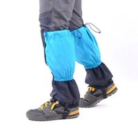 Wholesale Genuine adult Lengthening Waterproof Keep warm Foot cover child High quality Leggings Sand control outdoor Mountaineering Snow set