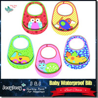 Wholesale Baby Bib Waterproof Neoprene Multifunction Sozzy Styles Modeling Stereoscopic Cute Baby Bibs Easy Wash Machine Washable Keep Cloth Clean