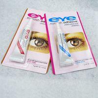 Wholesale Eye Lash Glue Black White Makeup Adhesive Waterproof False Eyelashes Adhesives Glue White And Black Available