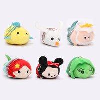 Unisex alice baby - 38styles EMS In Stock Lovely cm Mini Lovely TSUM TSUM toy Animal plush Doll Baby Toys Alice Cinderalla Snow white Plush Keychains