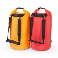 bags of sand - l shoulders waterproof outdoor camping bucket of sand drift waterproof bag can be customized LOGO