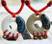 ancient chinese necklaces - Chinese ceramic necklace restoring ancient ways