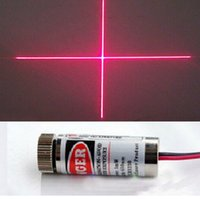 Wholesale New Focusable mW nm Red Cross Line Laser Module Focus Adjustable laser Head A6