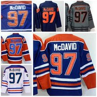 Wholesale 2016 World Cup North America Ice Hockey Jerseys Black Edmonton Oiler Connor McDavid Jersey Men Fashion Best All Stitched Quality
