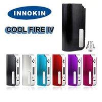 Precio de Mods fresco-100% Autentico Innokin CoolFire IV 40W Batería Innokin Cool Fire IV Express Kit Innokin Coolfire 4 Box Mod con 2000 mah Batería