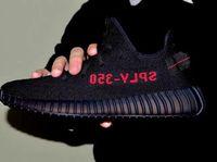 basketball sample - Kanye design Real sample boost sply v2 Black red fashion sneakers women men shoes