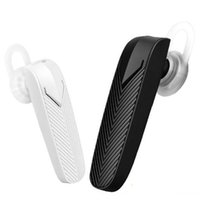 apple ipad mic - Mini Bluetooth Headset Stereo Wireless Headphones with Mic Earhook In Ear Design for iPhone iPad Samsung Xiaomi Huawei With Retail Box