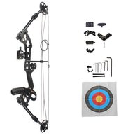 Wholesale complete compound bow packages for sale with accessories hunting outdoor black factory outlet