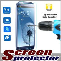 Wholesale 9H Premium Real Proof Tempered Glass Film Guard Screen Protector For iPhone Plus S SE S C Samsung Galaxy S7 S6 Edge Note MOQ pc