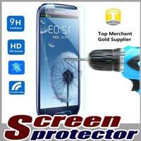 al por mayor iphone protector de pantalla 5c-Protector de cristal templado de la pantalla del protector de la película de 9H de la prueba verdadera superior para el iPhone 7 más 6 6S SE 5 5S 5C Samsung LG G6 MOQ del borde de la galaxia S7 S6: 10pcs
