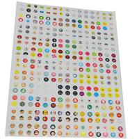 Wholesale Set Cute Cartoon Rubber Home Button Sticker for iPhone S G S Plus