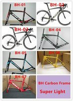 bh pink - BH G6 Full carbon fiber frame UD matte glossy carbon road bicycle frame cycling bike racing bike frame many colors can choose