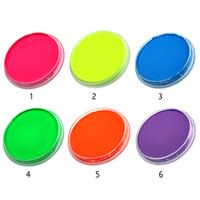 Wholesale fluorescent body paint face painting Water soluble pigment Body Art Halloween make up maquiagem s30