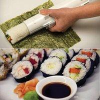 Wholesale 2016 new High Quality Plastic DIY Sushi Maker Mold Kitchen Sushi Rice Making Tool Onigiri Roll Tool
